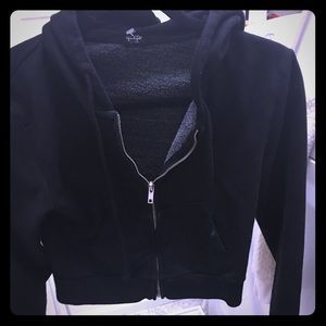 John Galt black hoodie